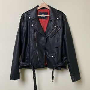 Born a Bad Seed Vegan Leather Jacket